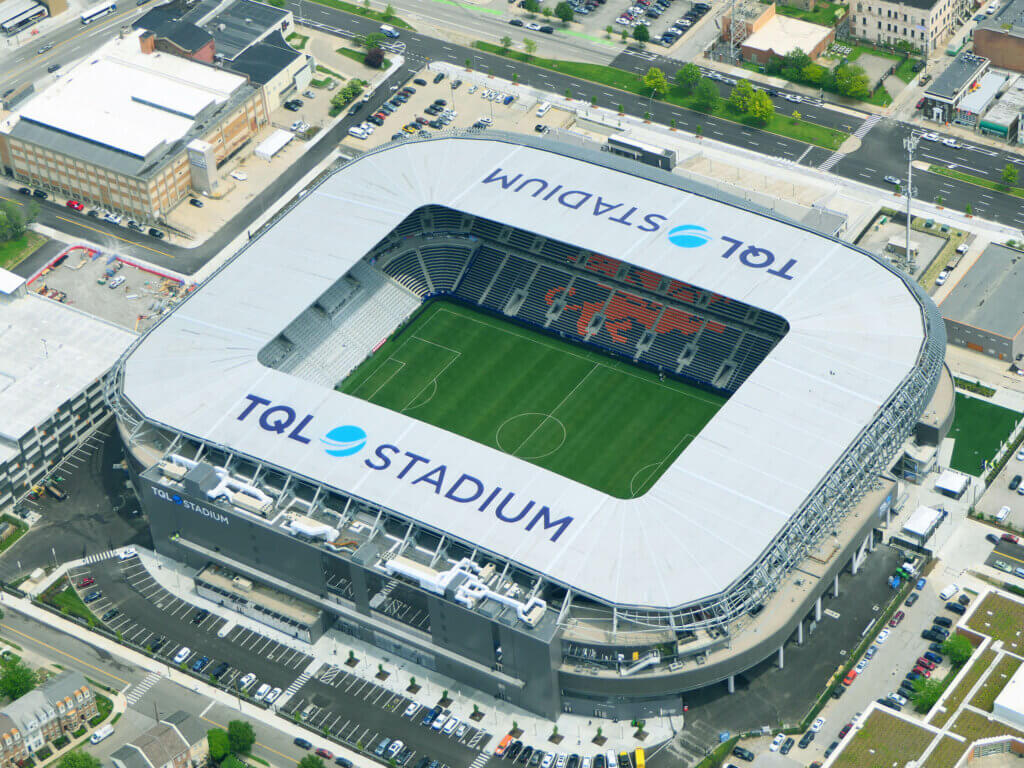 FC Cincinnati TQL Stadium - Field by The Motz Group