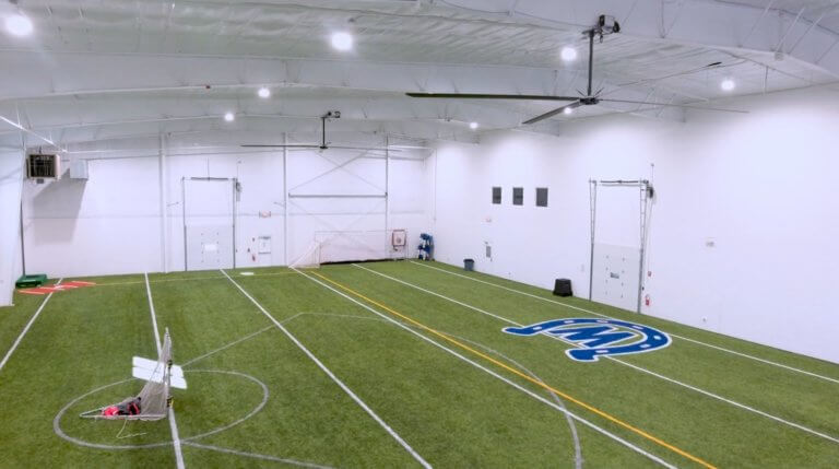 close up of indoor facility
